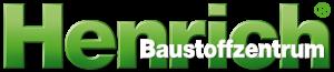 Henrich Baustoffzentrum Logo